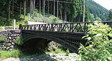 神子畑鋳鉄橋/羽渕鋳鉄橋